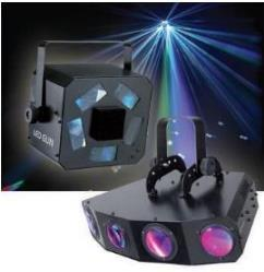 Effet Disco LED GUN ou DREAM DANCER